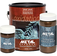 Oxidized Metal Finishes