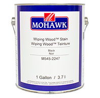 Wiping Wood Stain